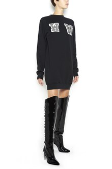 OFF-WHITE Sweater dress with 'WW' patches