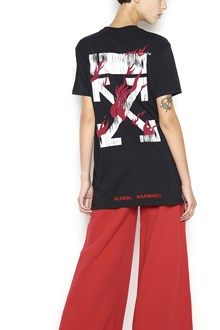 OFF-WHITE T-Shirt with 'World' print