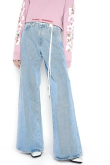 OFF-WHITE baggy jeans with belt