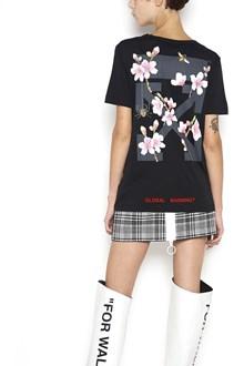 OFF-WHITE 'Cherry flower' printed t-shirt
