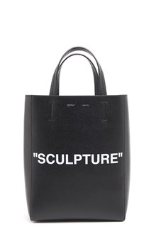 OFF-WHITE Tote with 'Sculpture' Print