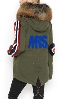 MR & MRS ITALY Down Jacket with fox fur hood