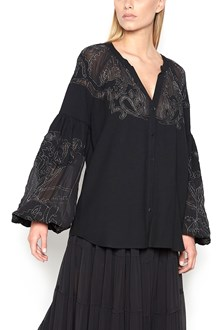 WANDERING Blouse with embroideries