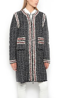 MONCLER GAMME ROUGE Coat with down jacket inside