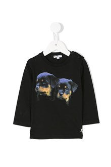 GIVENCHY 'Rottweiler' printed cotton t-shirt