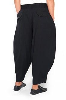 COMME DES GARÇONS HOMME PLUS Pants with Elastic Waist and Low Crotch