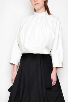 J.W.ANDERSON Cotton balloon blouse with long sleeves