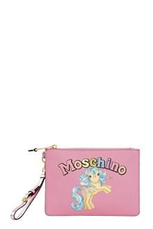MOSCHINO 'My little pony' clutch