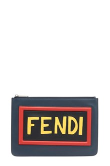 FENDI 'Fendi Words' Clutch