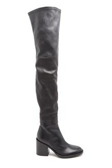 ANN DEMEULEMEESTER Calf Leather Thigh Boots
