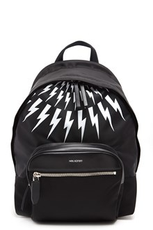 NEIL BARRETT Backpack with 'Flash' print