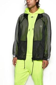 ADIDAS ORIGINALS BY ALEXANDER WANG Net Sweatshirt with zip