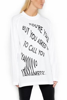 Y-3 Long sleeve t-shirt with print