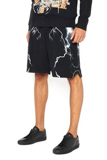MARCELO BURLON - COUNTY OF MILAN Bermuda with elastic waist