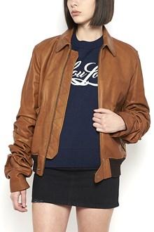 SAINT LAURENT Jacket with Contrast Outline
