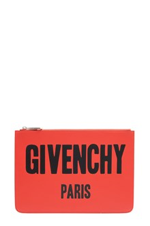 GIVENCHY 'Iconic print' leather clutch