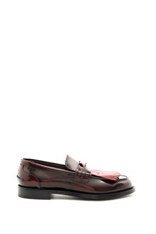BURBERRY Calf leather Loafers with kiltie fringe