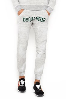 DSQUARED2 Cotton pants with lettering