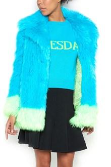 ALBERTA FERRETTI Eco Fur with Contrast Outlines