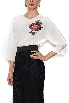 DOLCE & GABBANA 'Rose' embroidered blouse