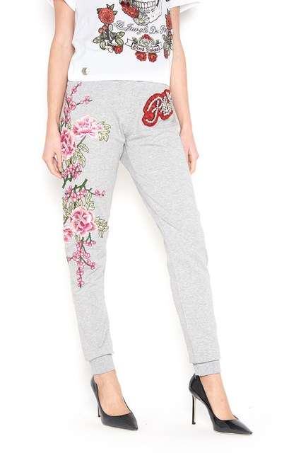 Embroidered sweatpants with crystals Philipp Plein 2018 For Sale Sast sCwPnatu