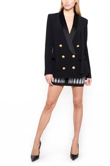 BALMAIN double breasted blazer with gold buttons