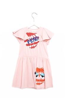FENDI KIDS dress with ruffles