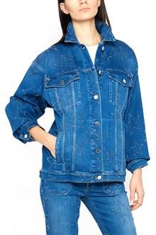 STELLA MCCARTNEY Blurred stars jeans jacket