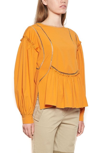cut out details blouse Alberta Ferretti Buy Cheap 2018 New Collections Outlet Latest Collections Perfect Sale Online PrMjfGWeNA