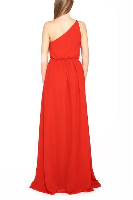 LANVIN pleated long dress