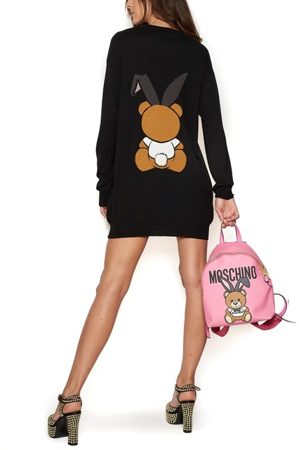 teddy playboy mini backpack Moschino OVNsywnj