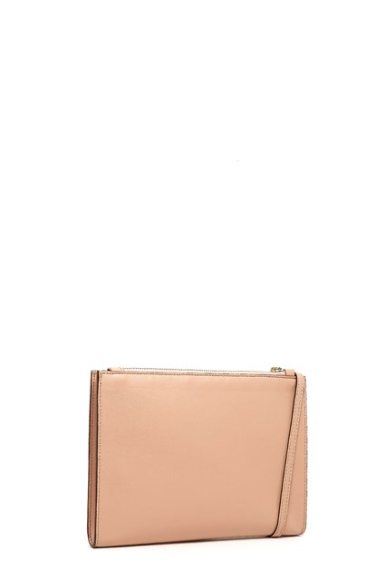 Stella McCartney traforated logo clutch x7gOX