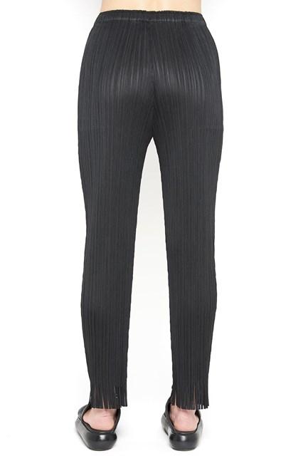 earthen fringe pants Pleats Please Issey Miyake O5C9wueyC