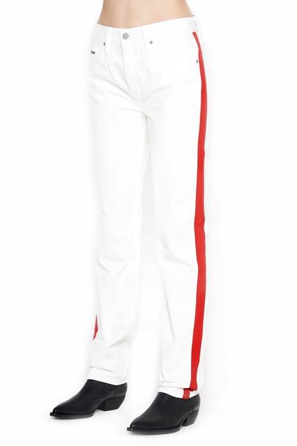 white bands jeans Calvin Klein NRuqVTu