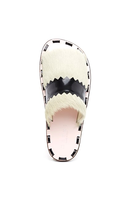 pony fur slides Marni Free Shipping Visit New Outlet Cheap Online Cheap Sale Release Dates Outlet Newest T7svGxNto