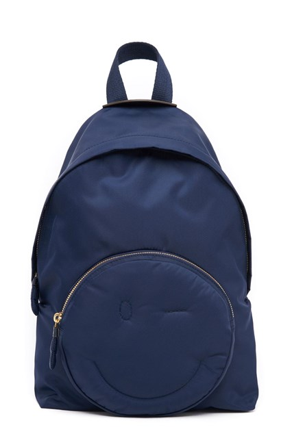 Many Colors blue chubby wink backpack Anya Hindmarch Free Shipping Cheap Quality Visit Cheap Sale Best Store To Get MMi7Wu