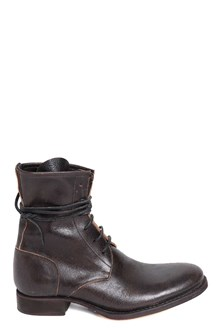 QUESTION Laced ankle-boots